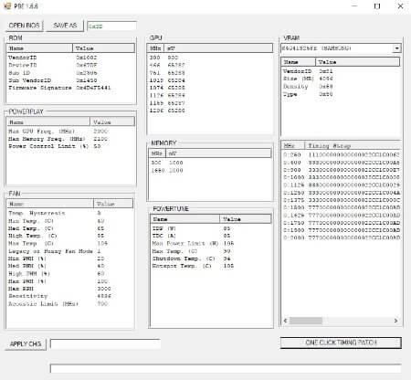 Polaris BIOS Editor 1.6.7