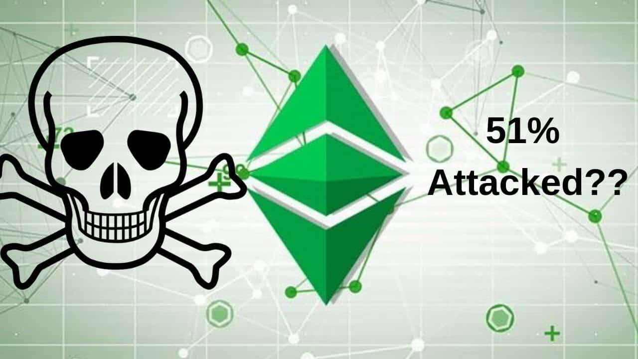 ETC 51% attacked
